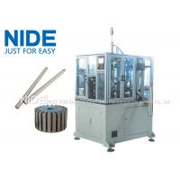Quality 4KW Rotor Assembly Line , Servo Automatic Armature Commutator Shaft Inserting Machine for sale