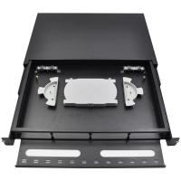 Buy cheap 19 Inch 24 Port ODF Fiber Optic Patch Panel Termination Box Easy For Operation from wholesalers