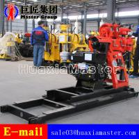 Quality HZ-130YY Portable hydraulic well drilling machine bore well drilling machine has high oil pressure and more efficiency for sale