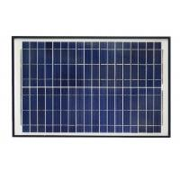 Quality Blue 12V Solar Panel , Polycrystalline Silicon Solar Panel With Alligator Clip for sale