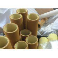 Brown Industrial High Temp Felt Roll High Abrasion PBO With Resin