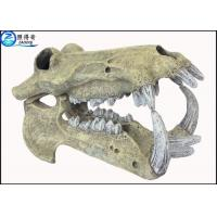 Quality Animal Head Skeleton Cool Fish Tank Decorations Marine Custom Fish Tank Ornaments for sale