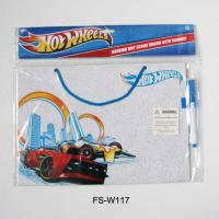 Quality Hot Wheels Hanging Dry Erase Board with Marker for sale