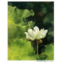 Quality China art painting orchid wall art decor calligraphy picture for sale