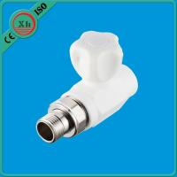 Quality White Straight Radiator Valves Smooth Internal Surface For Drinking Water Supply for sale