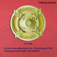 China Large recessed ceiling domes/ pu ceiling medallions on sale