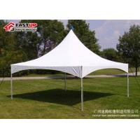 Quality Single Roof Small Gazebo Tent , Sunshade Awning Gazebo Pinnacle Tent For Rentals for sale