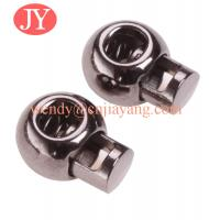 Quality jiayang Supply all kinds of rubber and metal cord lock and end stopper for sale