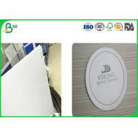 Quality White Uncoated Woodfree Paper , Absorbent Cardboard Paper With Good Absorbency for sale