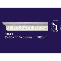 China Factory Price PU Carved Crown Cornice Moulding 1031 on sale
