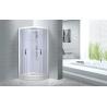 Buy cheap Cheap , Popular luxury shower cabin , Chrome Aluminium Quadrant Shower cabin from wholesalers