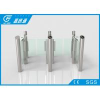 Buy cheap Face Recoginition Swing Stainless Steel Turnstiles Smart Controlled For Gym Pub from wholesalers