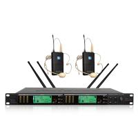 Buy Performance Microphone True Diversity Wireless System With Pll Combined Technology at wholesale prices
