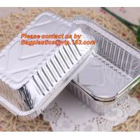 Quality airline disposable aluminium, aluminum foil container for food packaging, kitchenware, tableware, disposable, takeaway for sale