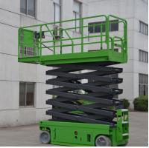 Quality Electrical Self Propelled Scissor Lift 12m Elevated Work Platform For Work Shop for sale