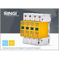 Buy 10KA - 20KA 4 Pole Surge protective device for Solar Photovoltaic System at wholesale prices