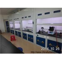 Quality Fiberglass Fume Hood Rubber Adjustable Feet Polymeric Resin Cabinet for sale