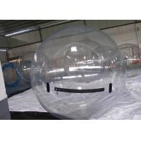 Quality Transparent Inflatable Water Toys , Jumbo Crazy Water Ball for Kids for sale