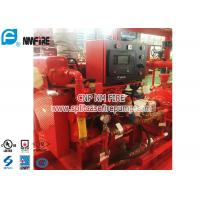 Quality Red FM Approval 300 Hp Diesel Water Pump Engine Used In The Firefighting for sale