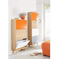 Quality Colorful Wooden Bathroom Vanities 3 / 4 Layers Shoes Cabinet  600 X 200 X 1500 mm for sale