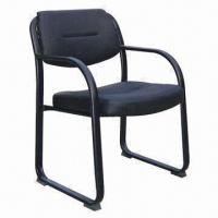Quality Guest Chair with PU Seat and Back Cushion, Strong Steel Frame, High Density Foam for sale