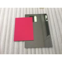Quality Pearl Red ACP Aluminium Composite Panel SheetsLightweight With PVDF Painting for sale