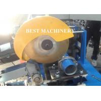 Quality Downpipe / Down Spout Roll Forming Machine Automatic PLC Control for sale