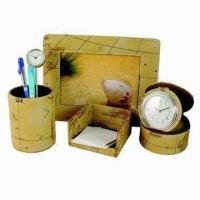 Quality Stationery Gift Set, Made of PU Leather for sale