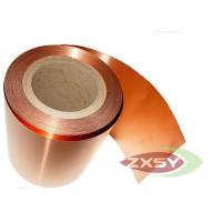 Quality Adhesive Rolled Insulated Professional Copper Foil Roll Polished for sale