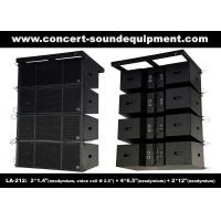 Buy cheap Dual 12 Inch 1560W Line Array Speaker With Neodymium Drivers For Concert , from wholesalers