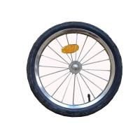 Buy cheap 16 inch pneumatic tires, rustproof rim, hub, spokes and axle Bike Trailer Accessories from wholesalers