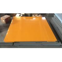 Buy cheap Hot Galvanized Carbon Steel Floor Weighing Scales 1.5x1.5m 3t / 5t Single Deck from wholesalers