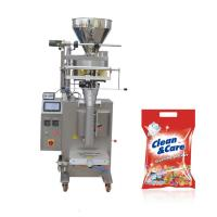 Quality JB-300K VFFS detergent powder filling packing machine with PLC control for sale