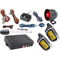 Quality Electric Car Starter Auto Car Alarm System With Auto Window Rolling Up Negative Output for sale