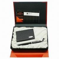 Quality Promotional Business Gift Set with Metal Pen for sale