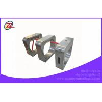 Quality Security Stainless Steel Tripod Turnstile Gate With Barcode Scanner for sale
