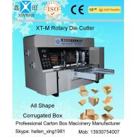 Quality Corrugated Paperboard Cardboard Die Cutting Machine High Speed for sale