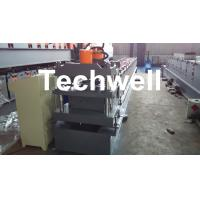 Quality Roof Ridge Cap Cold Roll Forming Machine with HRC 50-60 Cutting Blade for sale