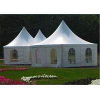 Buy cheap Garden Wedding Pagoda Tents , Luxury Gazebo Tents 3m x 3m / 4m x 4m / 5m x 5m from wholesalers