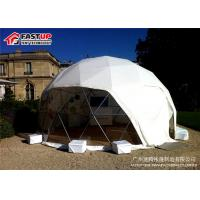 Buy Custom White Geodesic Dome Ballroom Tent Factory In Fastup Tent at wholesale prices