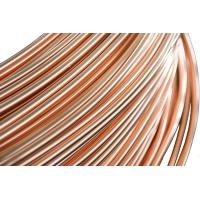 China Refrigeration Copper Tube , Single wall  Steel Pipes 4.76 * 0.65 mm on sale