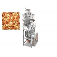 Quality Automatic Stand Up Multihead Weigher Packing Machine For Nut / Apple Ring for sale