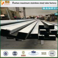Quality Slotted shape SUS316 ASTM A554 stainless steel welded pipes for sale