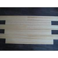 Buy Natural color vertical bamboo flooring with lacquer on surface at wholesale prices