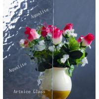 Quality 3mm to 8mm Aqualite Patterned Glass, Rolled Glass, Figured Glass with Certificate ISO and BV for sale