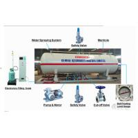 Quality 16 metric tons skid lpg gas filling plant for Nigeria Africa, 16MT mobile skid-mounted propane gas refilling station for sale