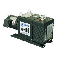 Quality Small BSV60 60m3/H 2 Stage Oil Sealed Rotary Vacuum Pump Oil Anti Return System for sale