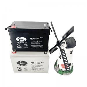Quality 12v 100ah 800A 90ah Gel Deep Cycle Lead Acid Battery Sealed Free Maintenance for sale