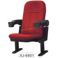 Quality Fabric Conference / Church / Auditorium Hall Chairs With Movable Armrest for sale