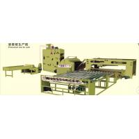 Quality Fiber Cotton Wadding Production Line Auto Quilt Filling Line 1 Year Warranty for sale